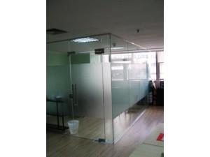 北京海淀区定做玻璃隔断墙办公室双层玻璃隔断间价格