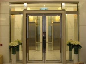 信阳铝合金防火玻璃门,不锈钢玻璃防火门