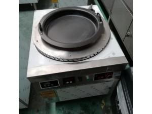 杭州600电磁旋转生煎包炉 德茹8KW恒温生煎锅煎饺子
