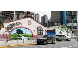 四川专业承接彩绘  喷绘  手绘 共享门头 墙体广告等