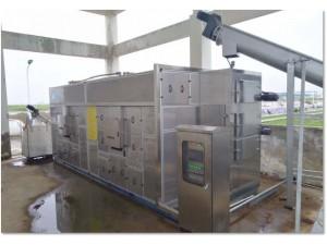 杰强牌连续式污泥低温干化机
