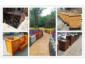 供应慈溪廊架,慈溪木围栏,慈溪花箱,慈溪户外木地板,户外桌椅