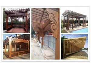 供应奉化廊架,奉化木围栏,奉化花箱,奉化户外木地板,户外桌椅