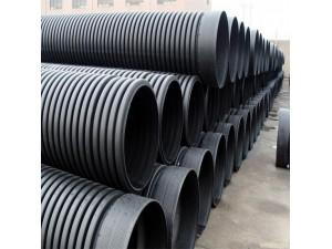 专业的HDPE钢带波纹管生产厂家