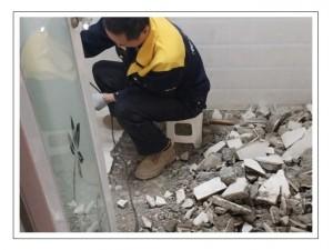 厨房防水补漏厨房地面全翻专业厨房漏水维修