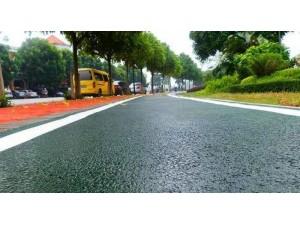 内江市 彩色混凝土路 彩色耐磨混凝土 工程案例