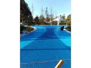 彭州市 彩色透水沥青混凝土  露骨地坪 生产企业