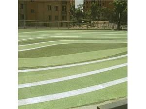 锦江区 生态彩色地坪 彩色透水地面 彩色透水混凝土颜色料