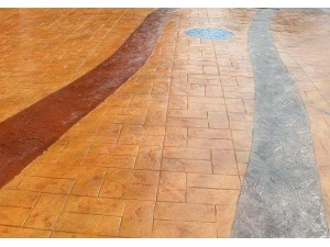 青羊区 水泥压花地面 混凝土压花地坪 彩色压印脱模剂