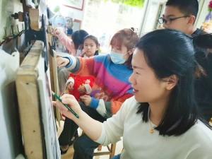 厦门小蚂蚁美术,学习书法、画画很不错的培训机构!