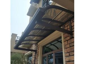 铝合金支架雨棚 窗户阳台户外遮阳雨搭 遮阳挡雨棚 防雨遮雨棚