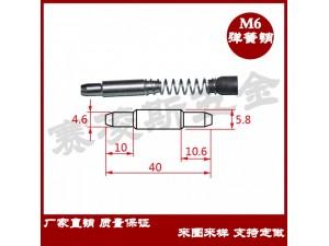 幕墙弹簧插销不锈钢弹簧销钉铝型材横梁弹簧销钉幕墙定位销钉