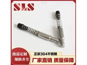 不锈钢弹簧插销 不锈钢定位销 幕墙插销 铝型材弹簧销钉M6
