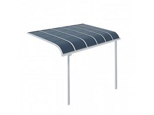 铝合金露台棚 小区家用窗棚楼顶棚定做 户外遮雨棚阳台遮阳棚