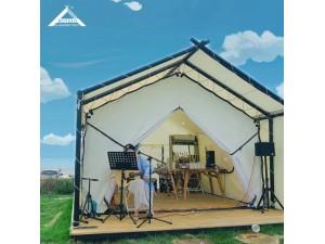 新款酒店帐篷 全地形 户外营地帐篷 野营山地式防雨民宿帐篷