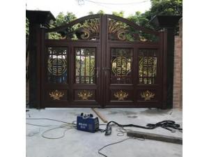 成都温江家装钢艺铝艺栏杆庭院大门