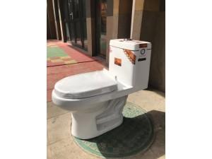 陕西渭南市工程卫浴-连体坐便器-工程马桶厂家直销