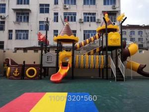 江西厂家供应儿童海盗船组合滑梯